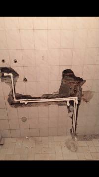 Banyodaki musluklardan sıcak su az akıyor
