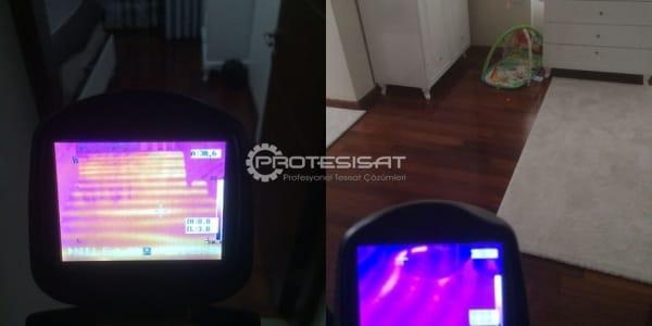 termal kamera ile kalorifer tıkanıklığı tespiti